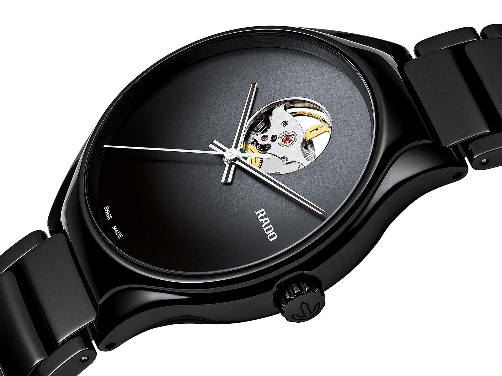 【RADO ラドー】True Secret トゥルーシークレット(ブラック)/国内正規品 腕時計
