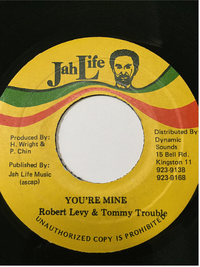 Robert Levy & Tommy Trouble - You're Mine【7'】