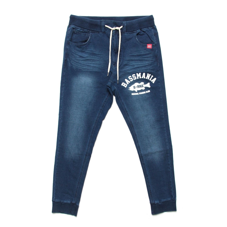 arch logo sweat denim pants 【D・INDIGO】
