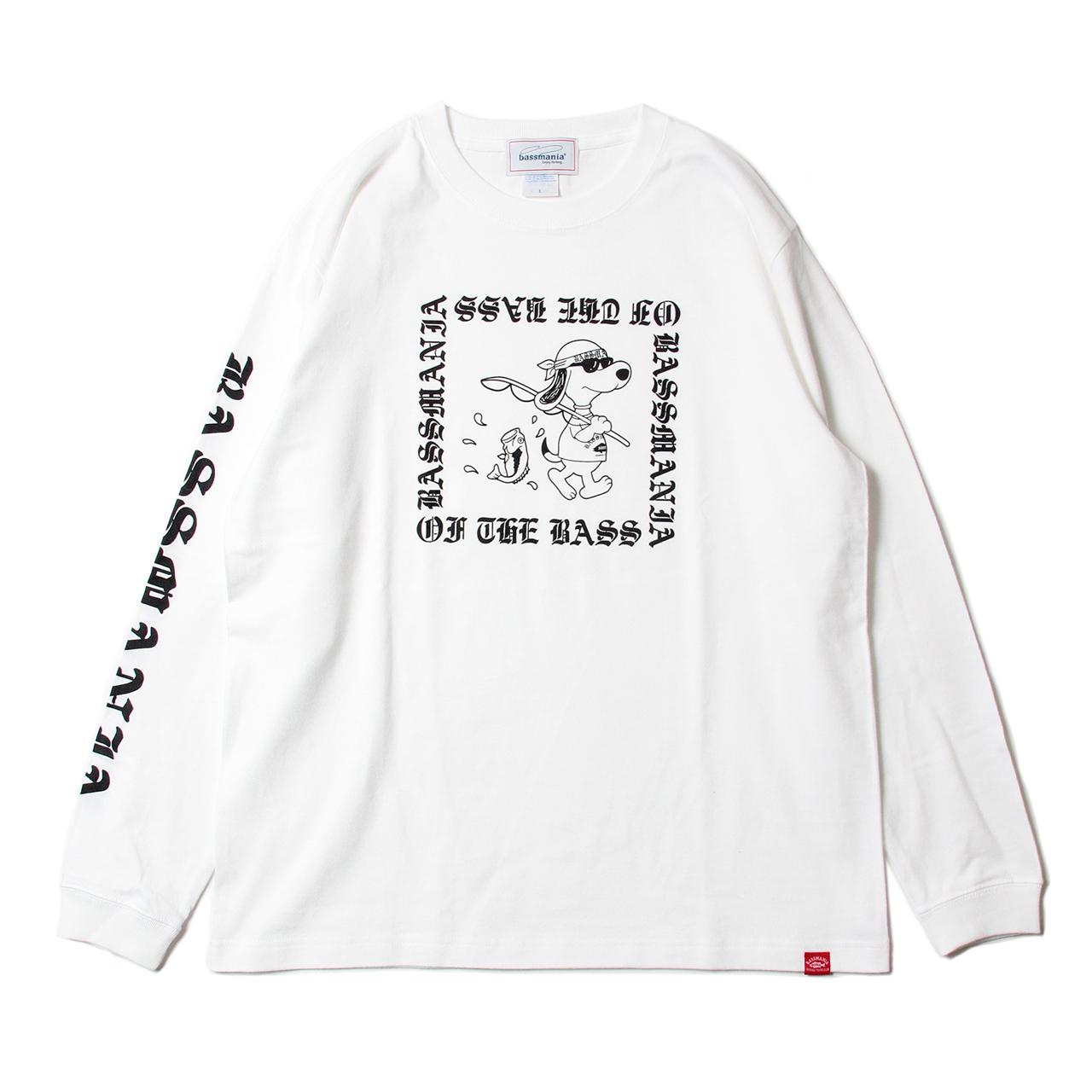 バンダナドッグロングTシャツ 【WHT】