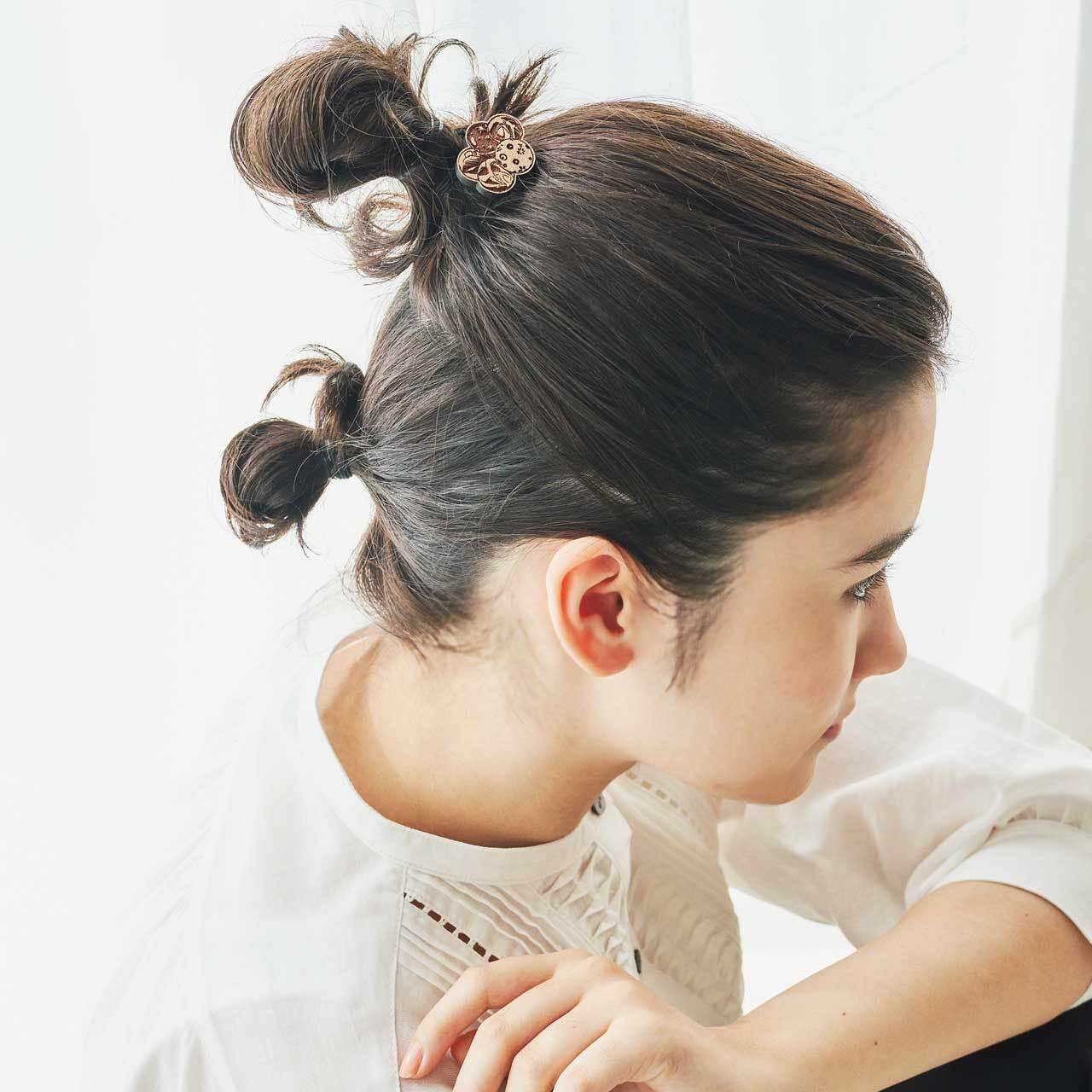 marble / ビー玉(Hair Elastic)/ 黒