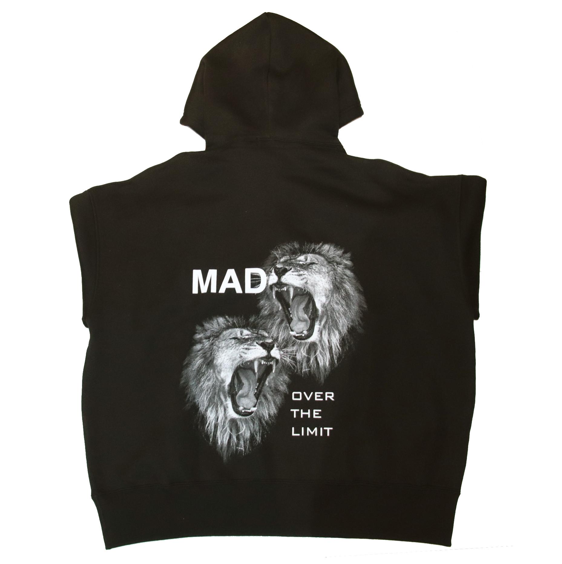 XAIREX MAD HOODIE (BLACK)[XAI-0034]