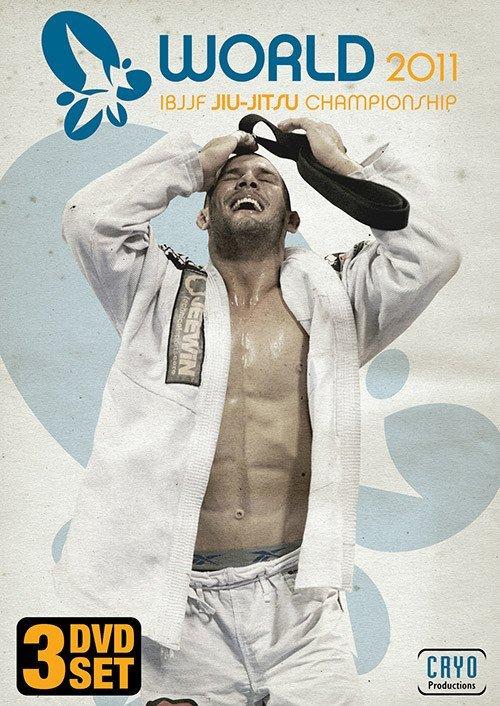 世界柔術選手権(ムンジアル)2011 4枚組DVD ブラジリアン柔術試合