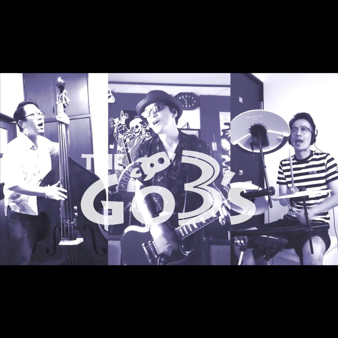THE GO→3's TSHIRT[BLACK/YELLOW]