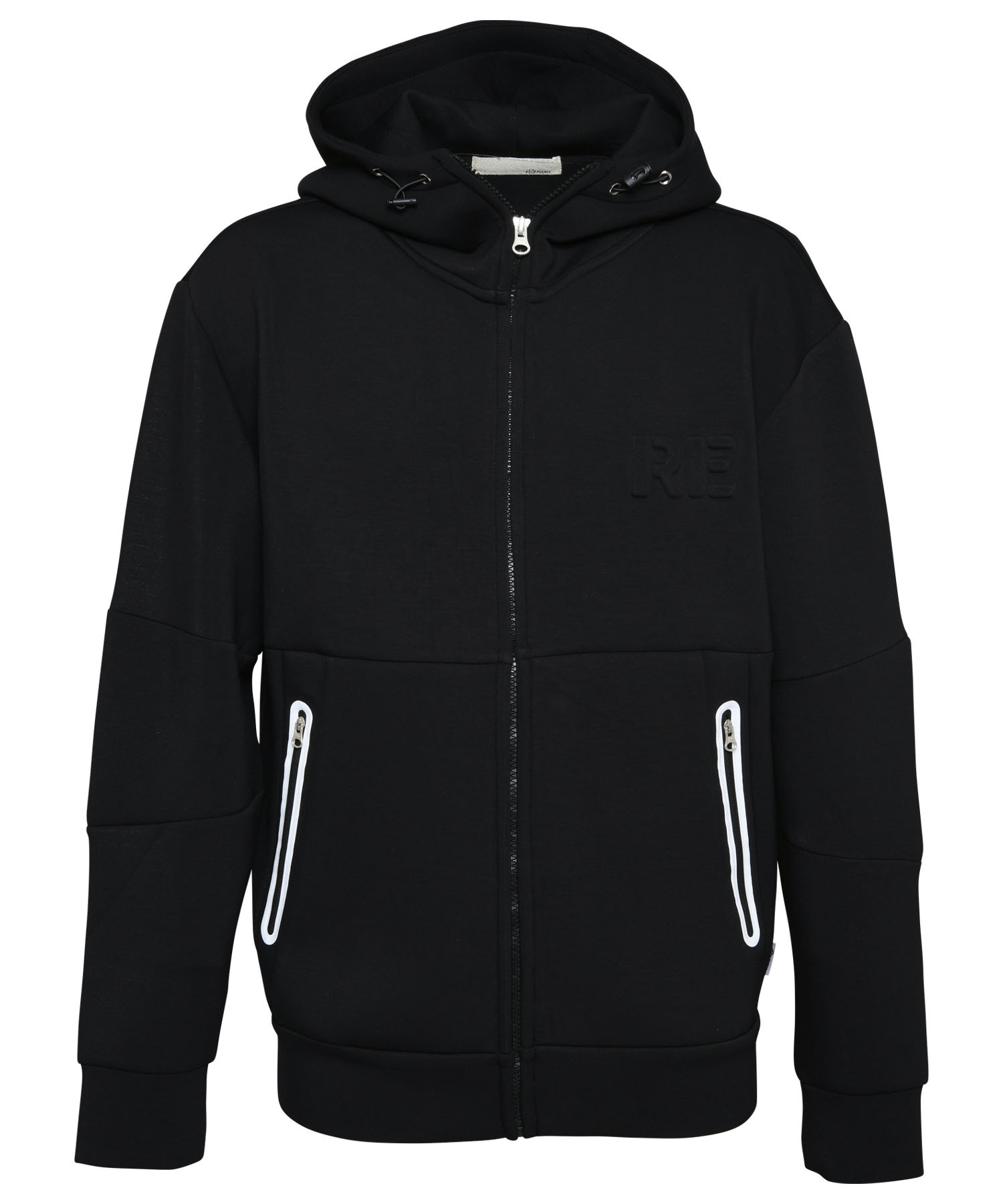 EMBOSS LOGO SWEAT BIG ZIP PARKA[REC425]