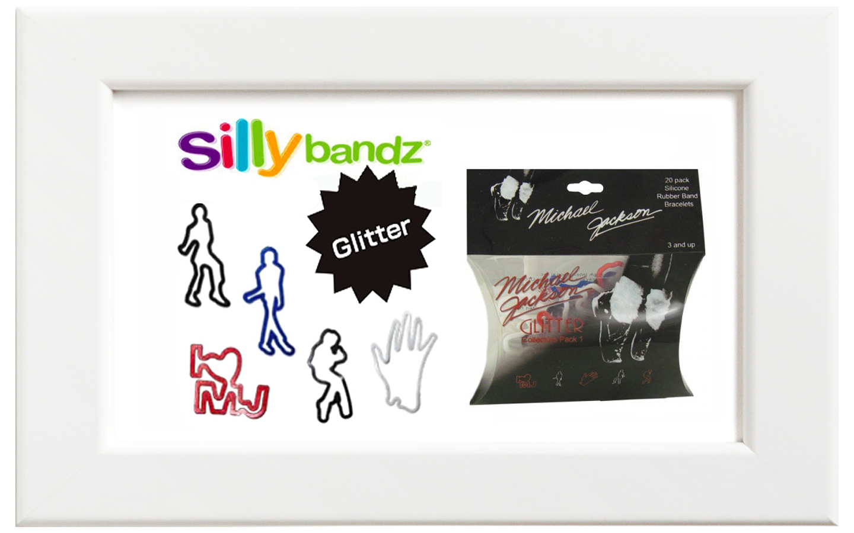 "Silly bandz/シリーバンズ マイケル・ジャクソン""Glitter"""