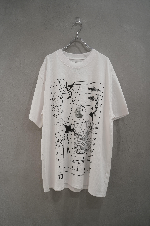 room13  KIKAGAKU T-shirt  white