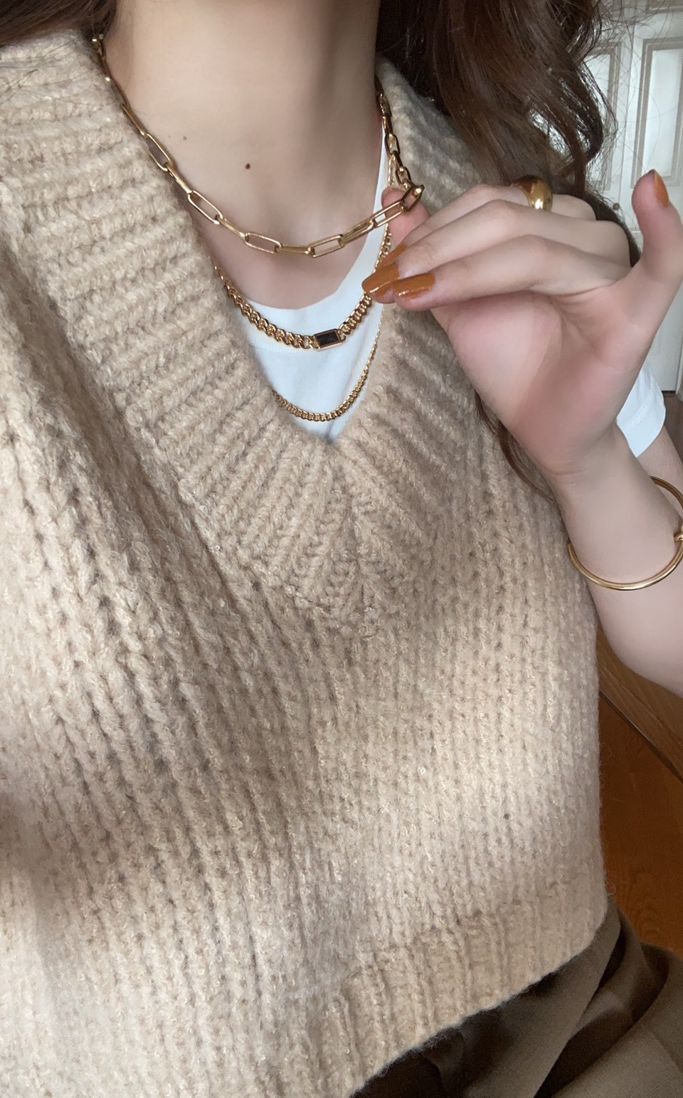 DAYNYC double chain necklace