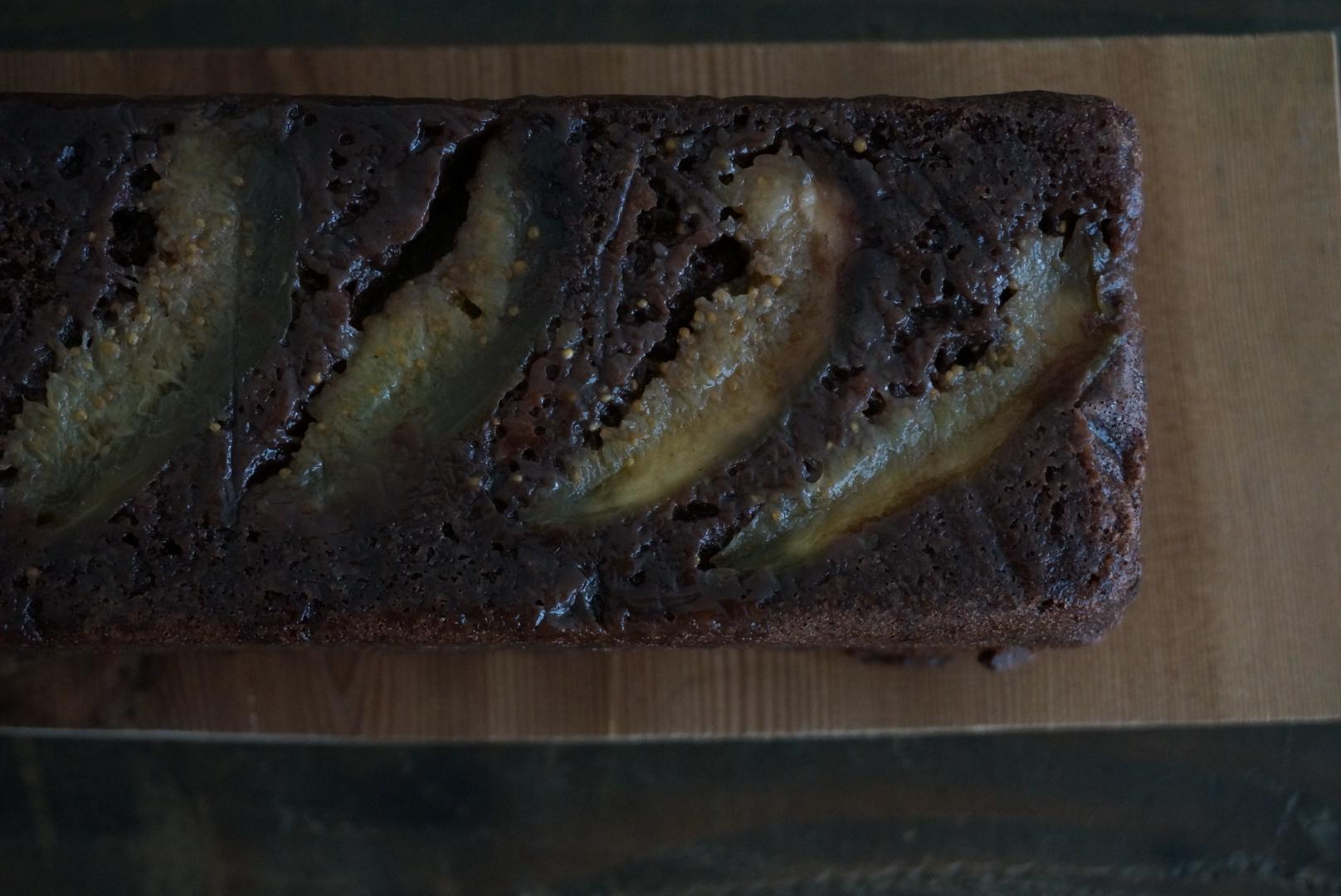 無花果とココアのパウンドケーキ