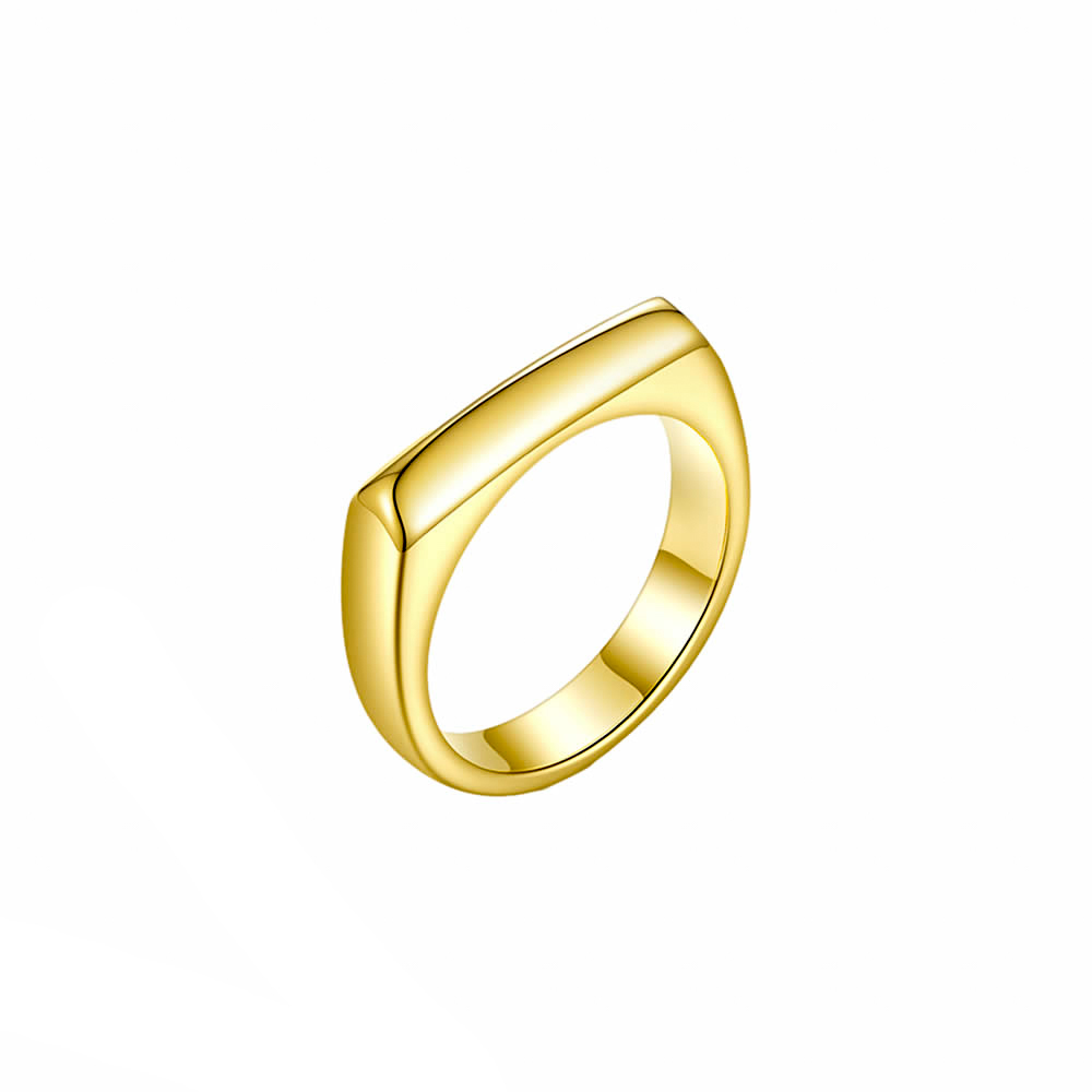 square forme ring