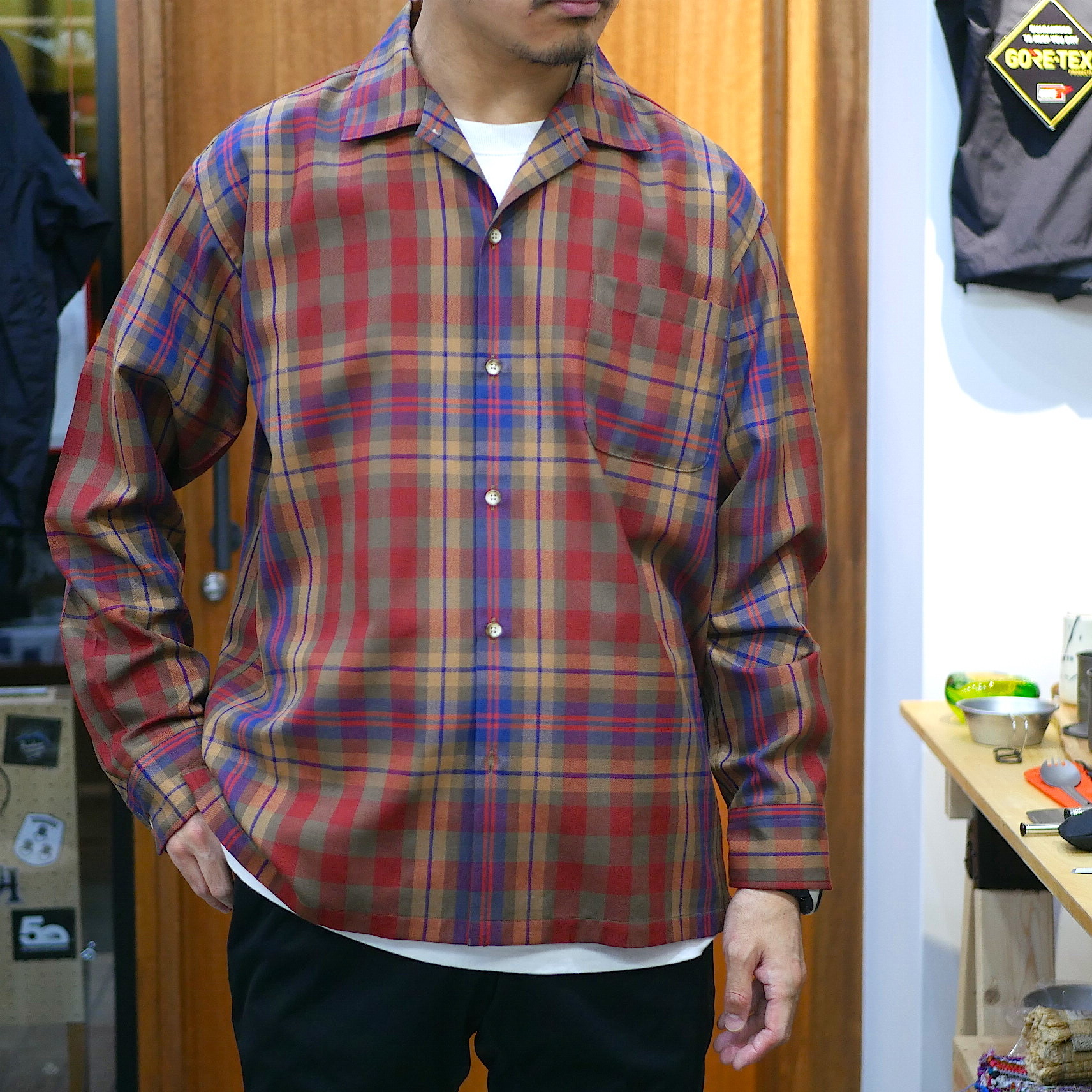 BROWN by 2-tacs / OPENCOLLAR SHIRTS