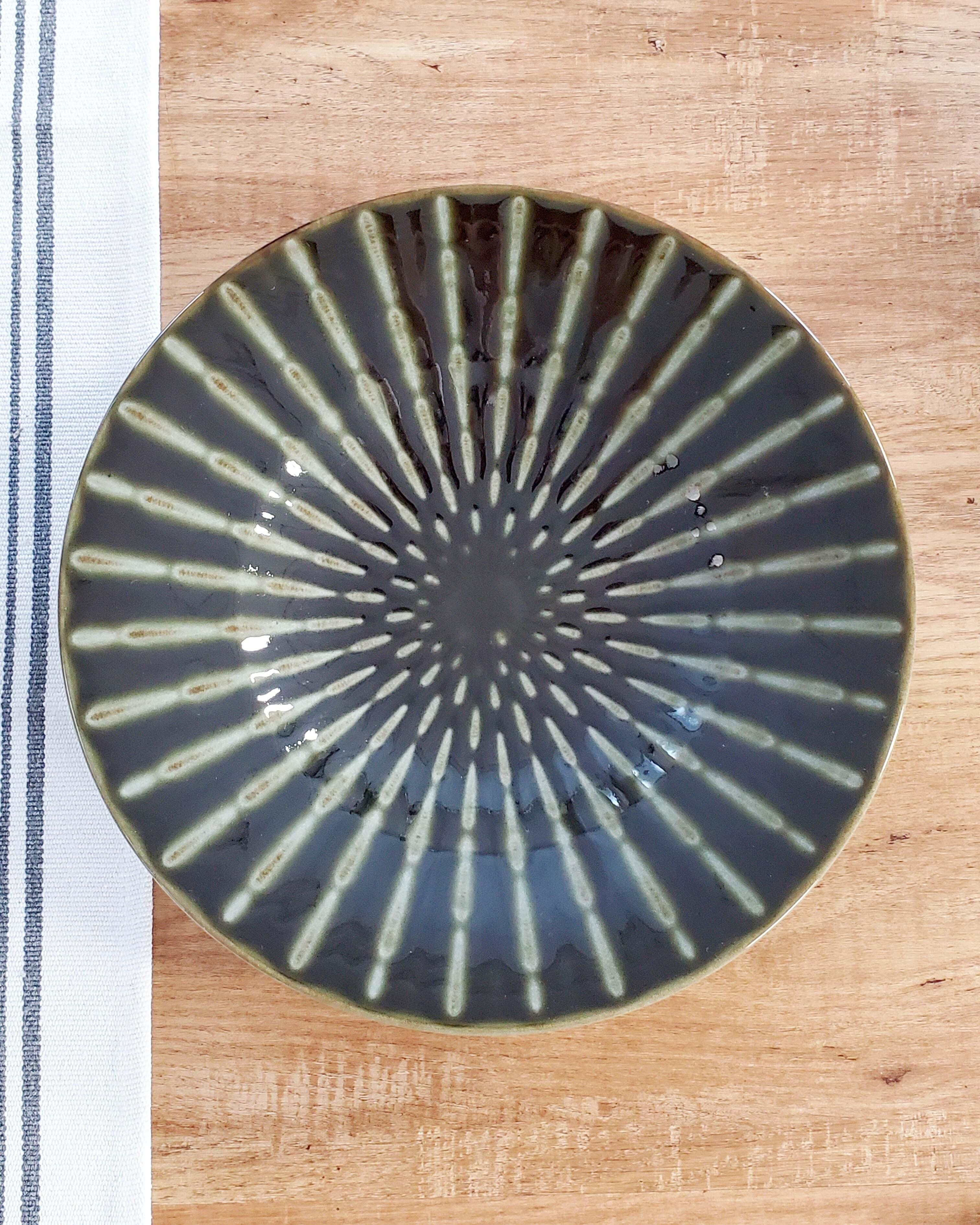 蓮・24cm浅鉢