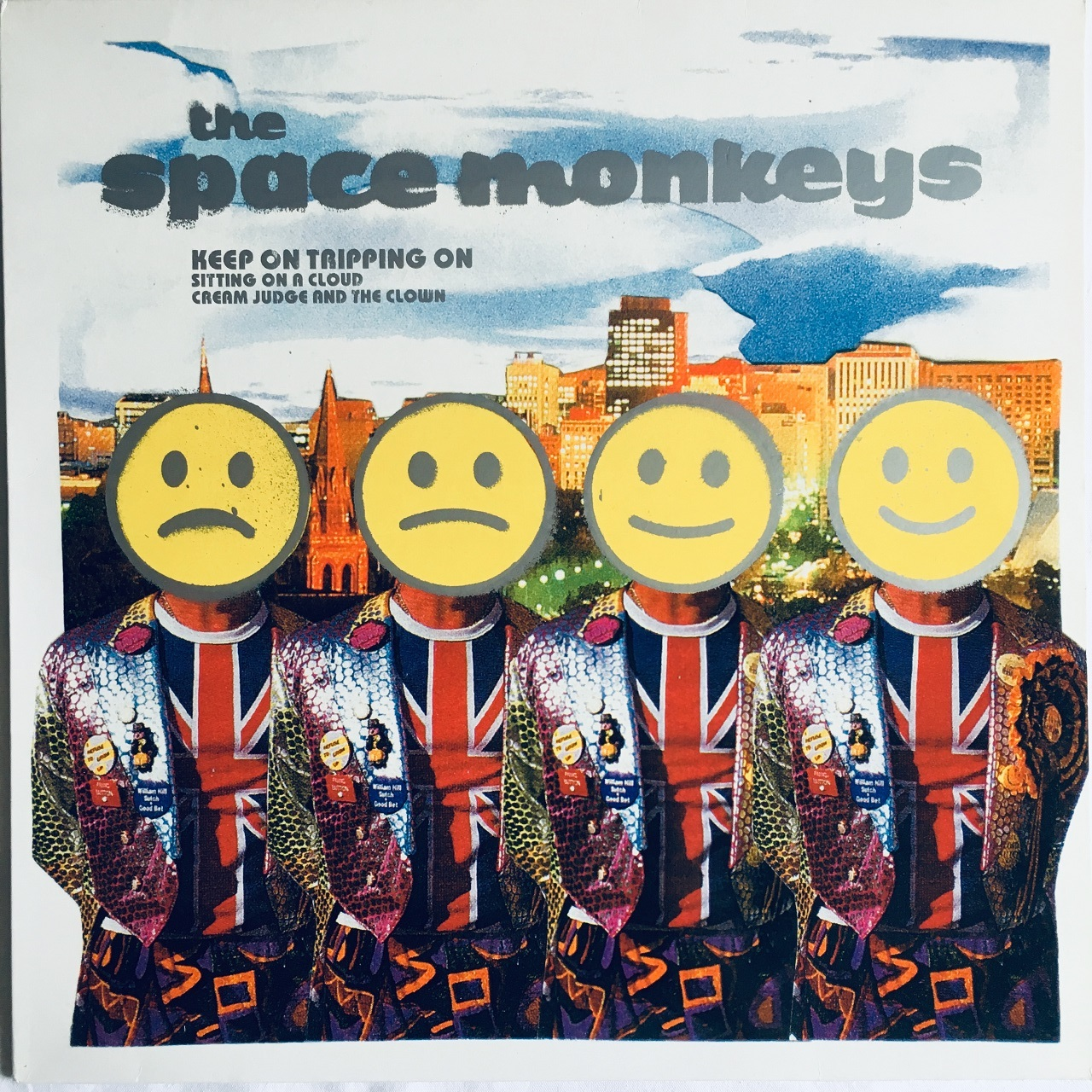 【12inch・英盤】The Space Monkeys / Keep On Tripping On