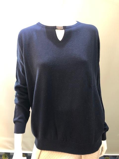 Andre Maurice イタリア製 カシミヤ100% デザインニットセーター 200712