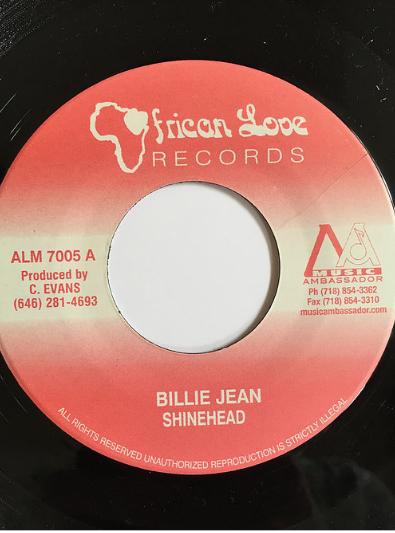 Shine Head(シャインヘッド) - Billie Jean【7'】