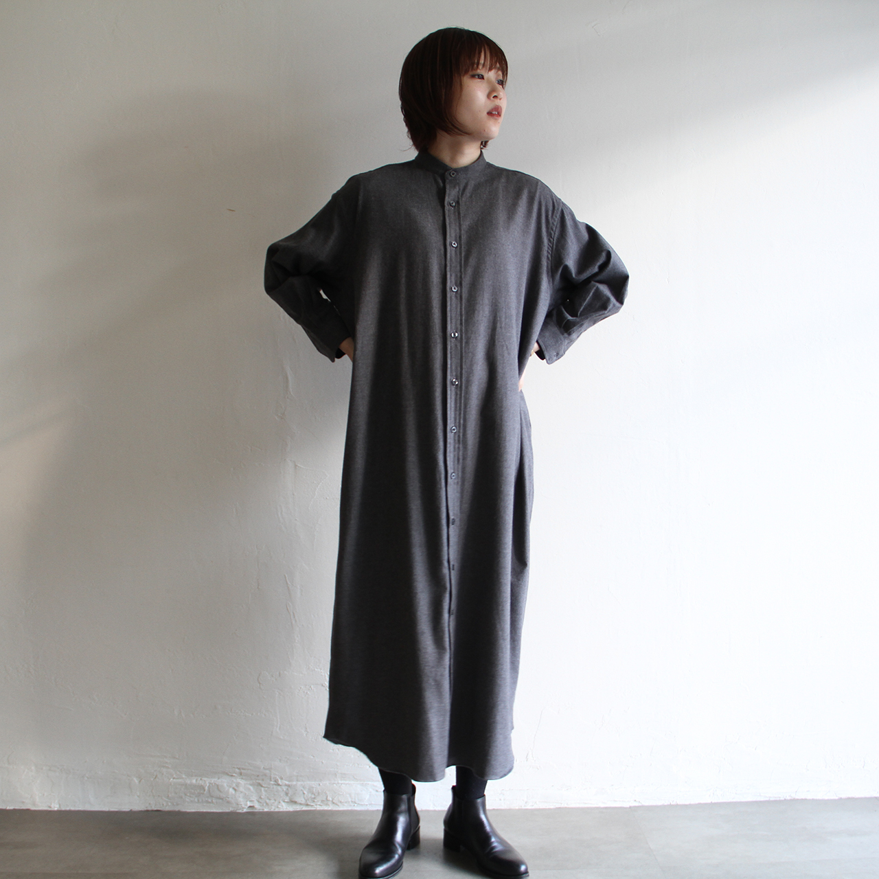 INDIVIDUALIZED SHIRTS 【 womens 】flannel shirts dress