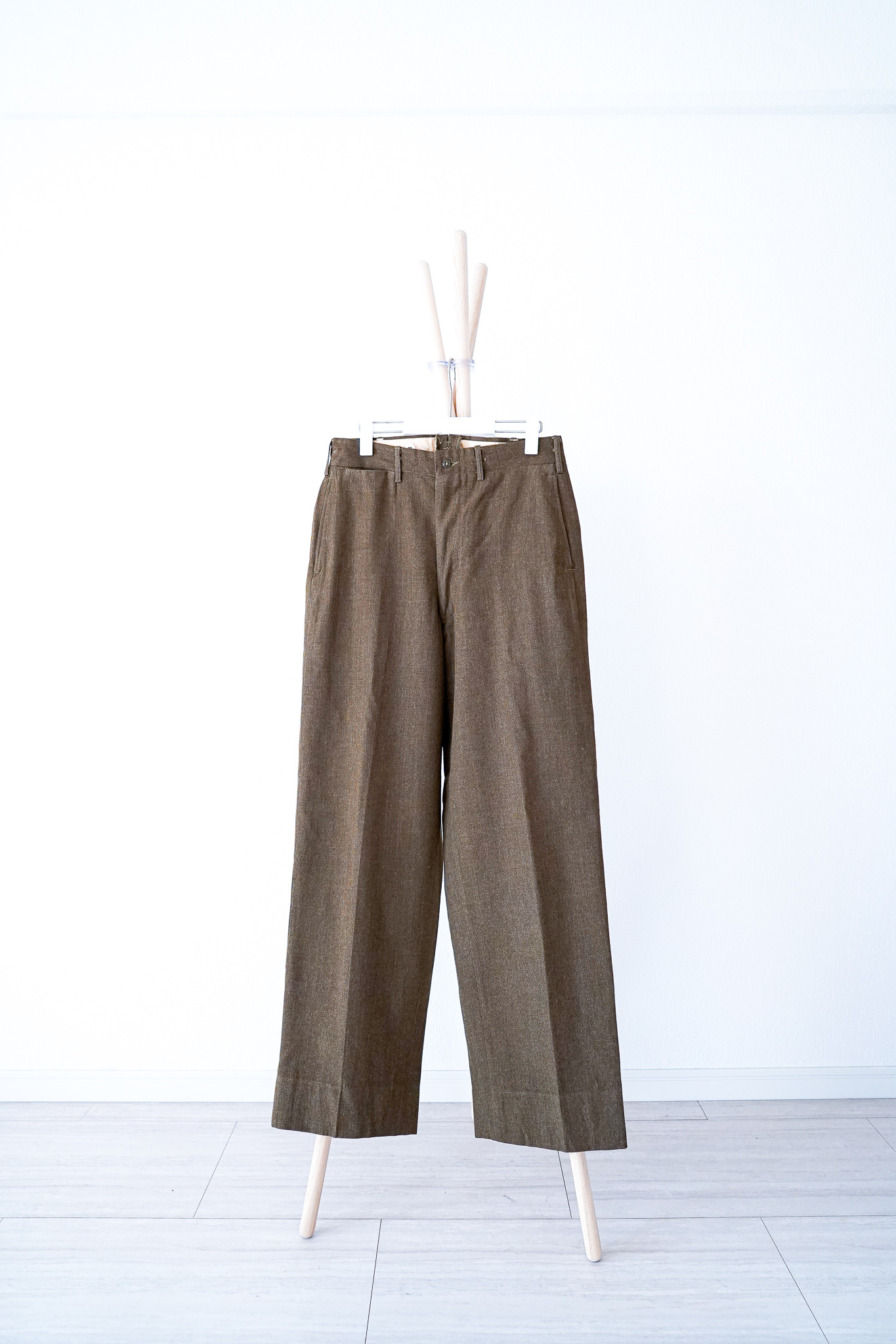 """【1940s】""""M-1943"""" US Army Wool Trousers / v391"""