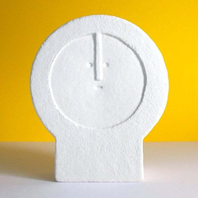 Peter Slight ceramics MEDIUM HEAD ROUND FACE / MH06