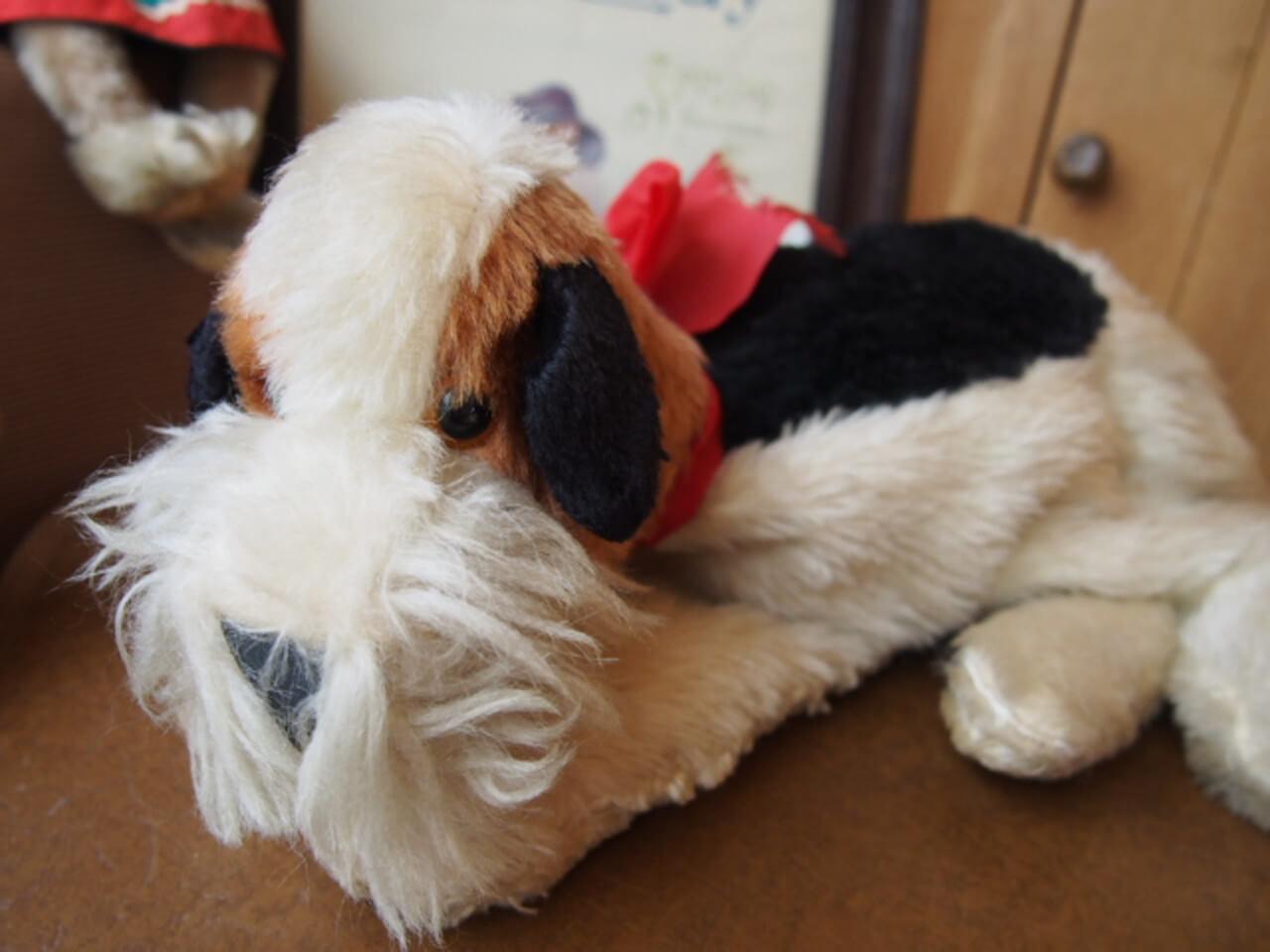 イギリスアンティーク 犬のパジャマケース