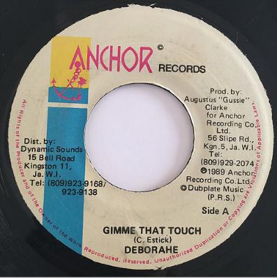 Deborahe Glasgow (デボラエグラスゴウ) - Gimme That Touch【7'】