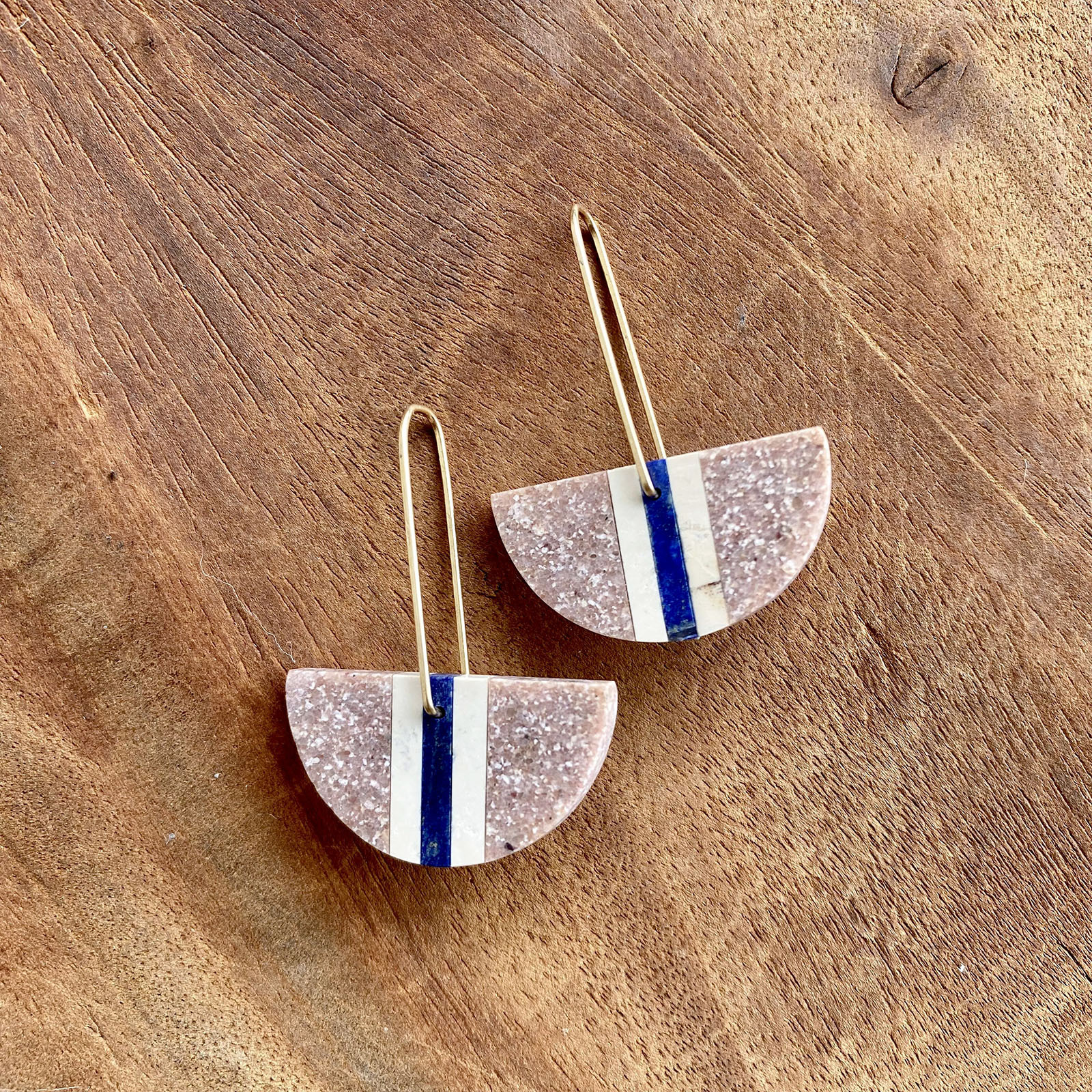 natural stone earrings :: Alison Jean Cole