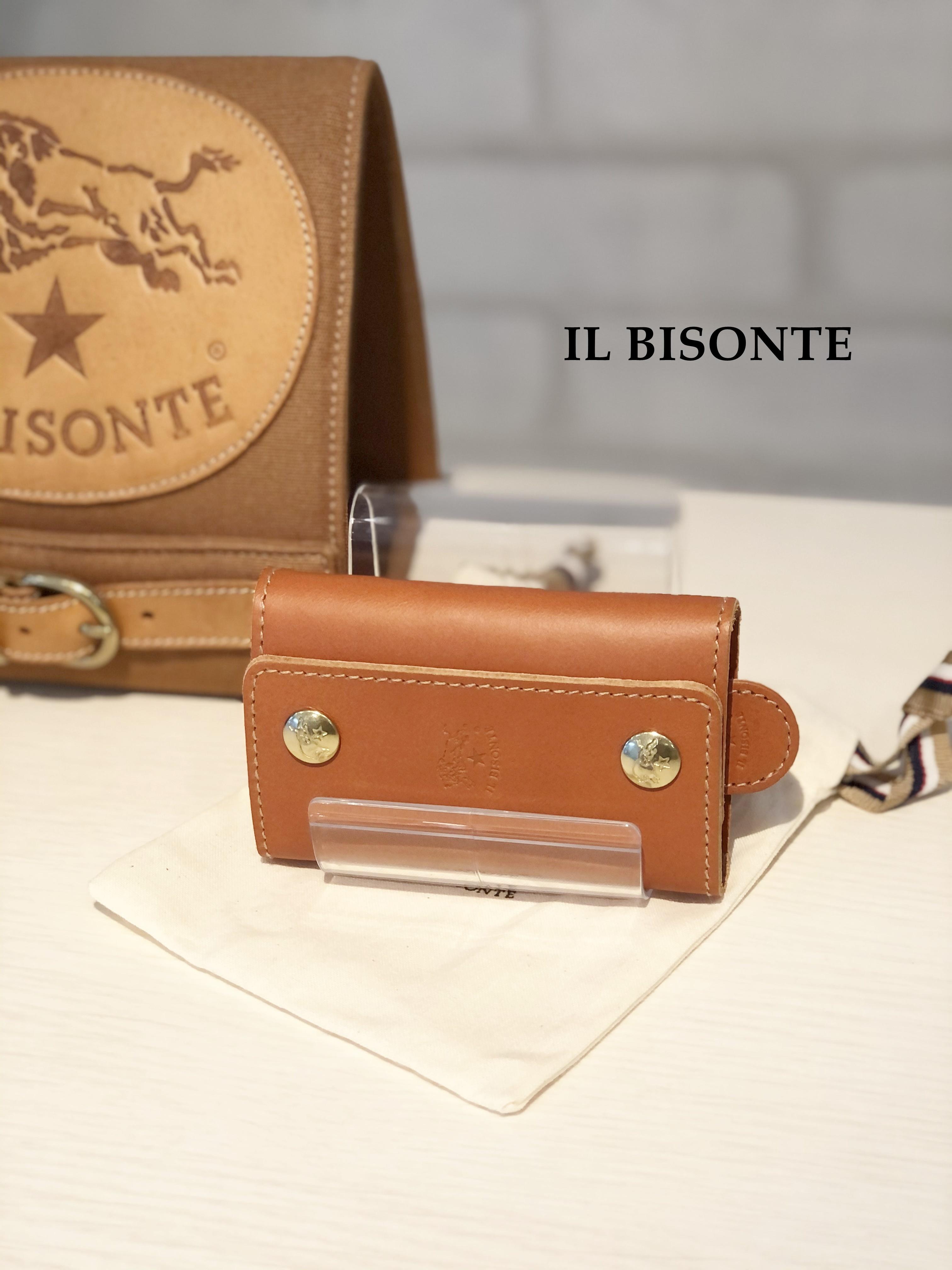 IL BISONTE(イルビゾンテ)/6連キーケース/9290(ヤケヌメ)