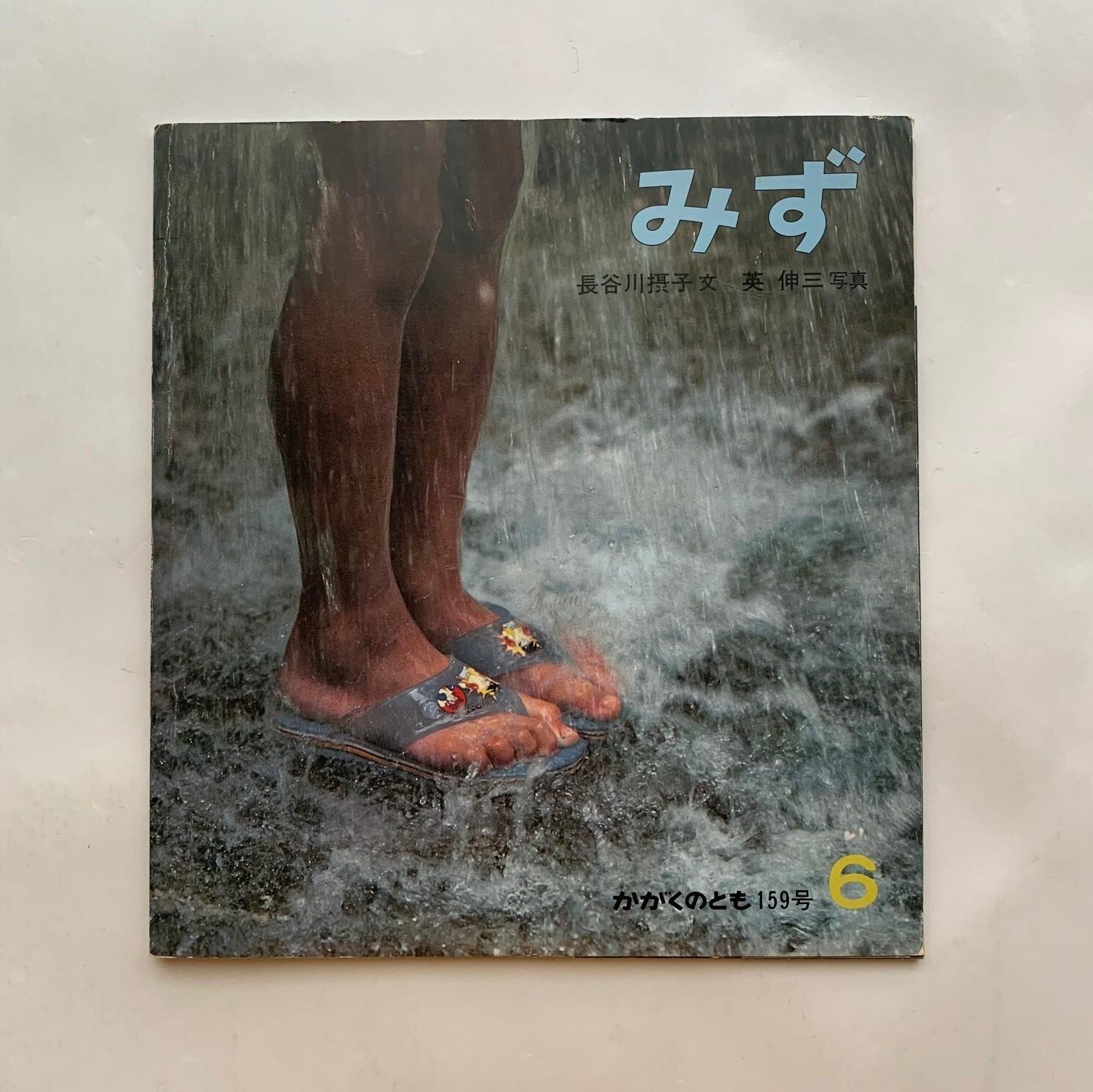 みず かがくのとも159号 / 長谷川摂子 文 英伸三 写真