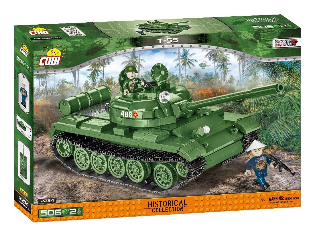 COBI #2234 T55 中戦車