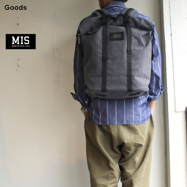 MIS ROLL UP BACKPACK DENIM CORDURA (Limited Model)