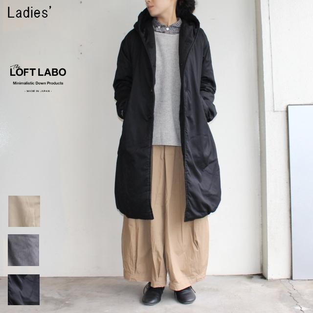 THE LOFTLABO フードロングダウンコート WIIS TL15FJK4 (BLACK)
