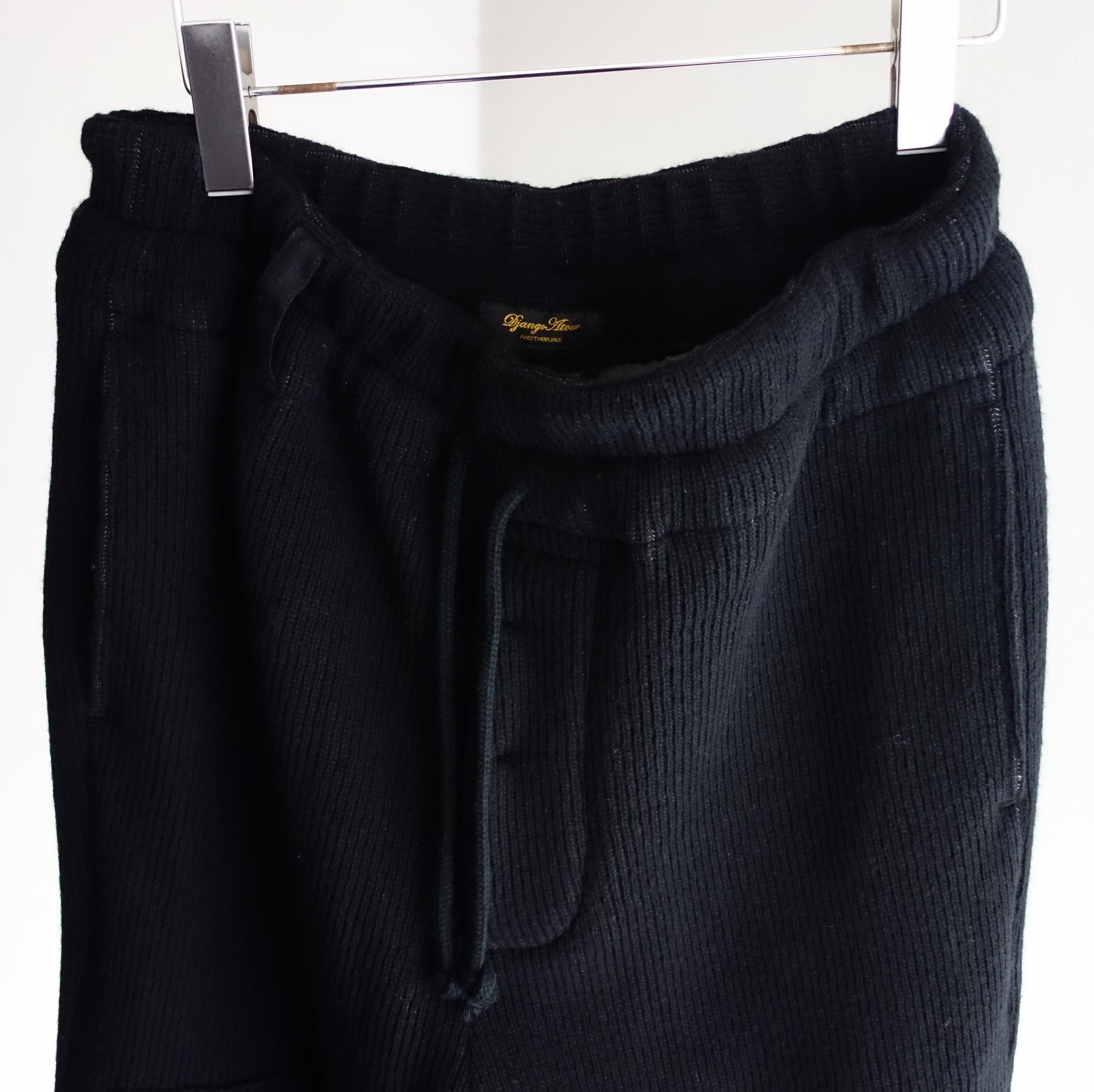 fishermanswork quarterknit knickers / black