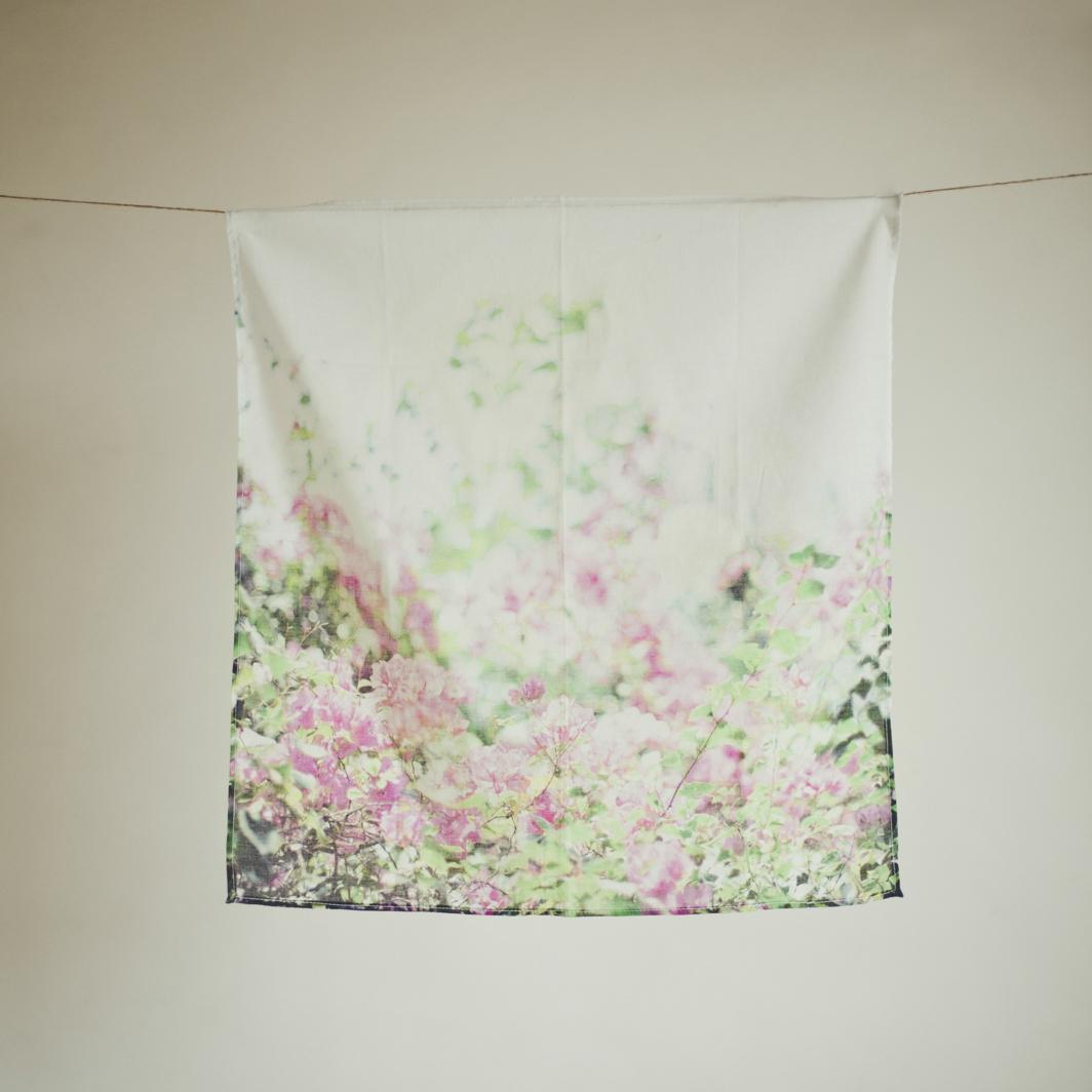 #01 ハンカチ / SHOWER OF FLOWER 送料無料