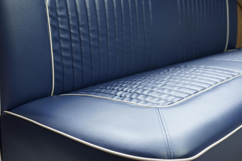 BENCH SEAT SOFA ベンチシートソファ NAVY