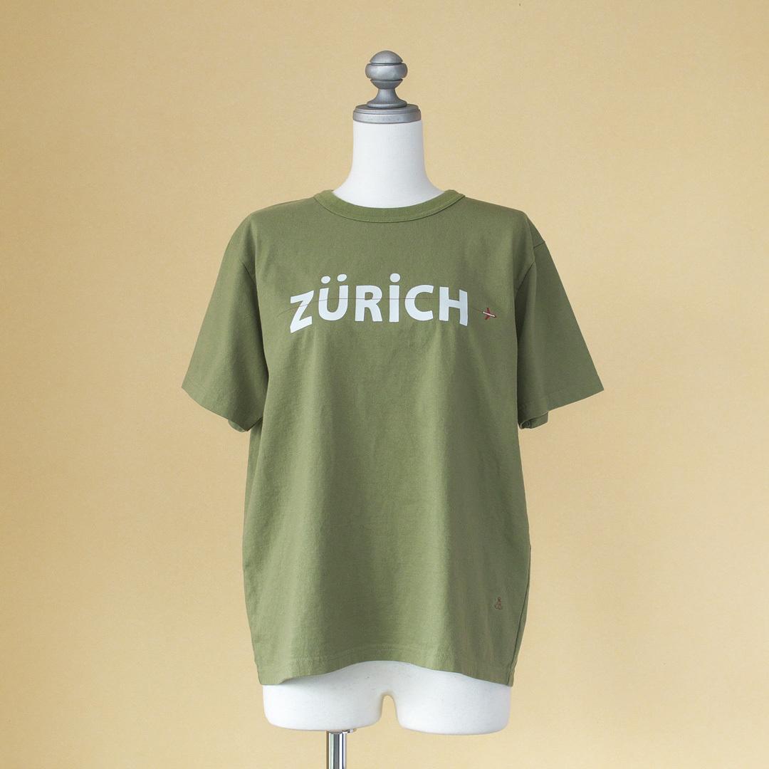 快晴堂 カイセイドウ 20周年記念リバイバル ロゴTシャツ・オリーブ