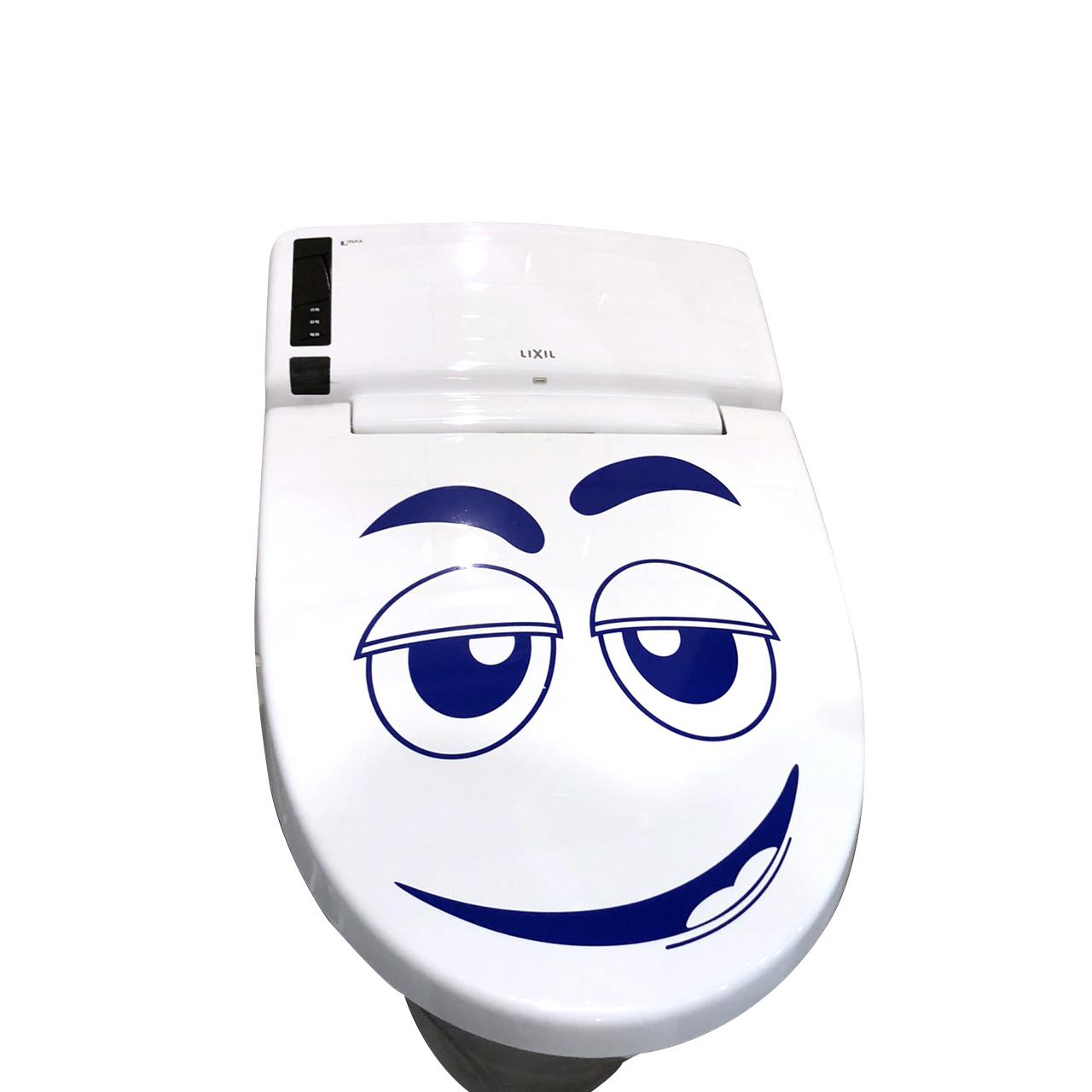 トイレのフタ用ステッカー