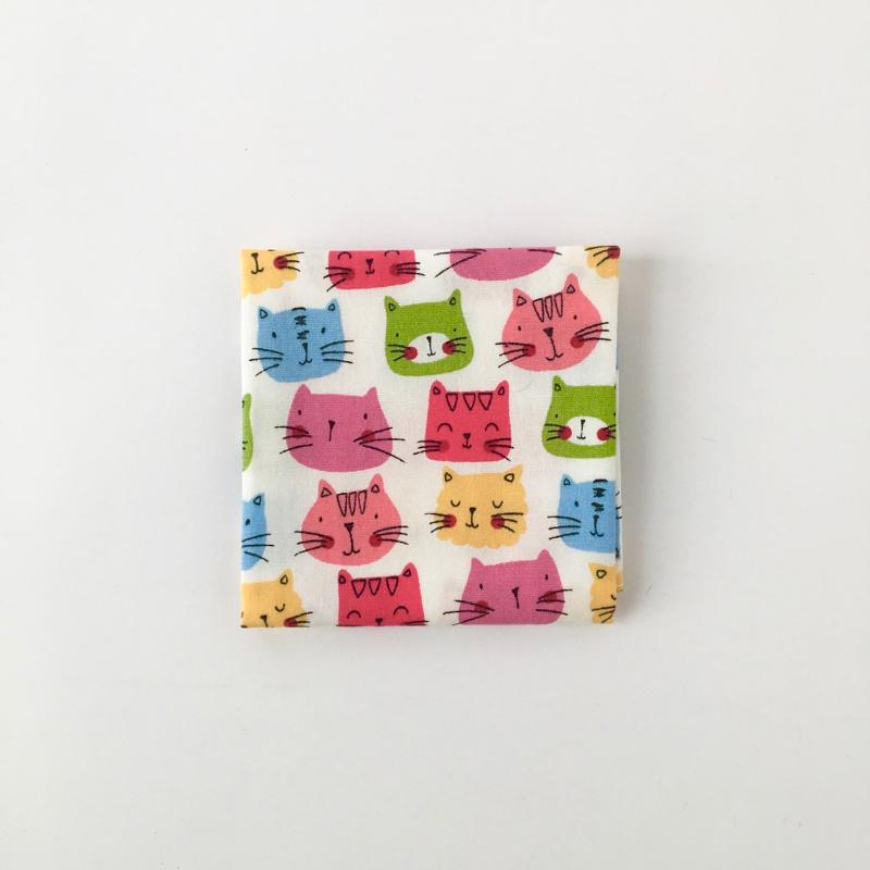 """タイのハンカチ(猫) Handkerchief of Thai """"Cats"""""""