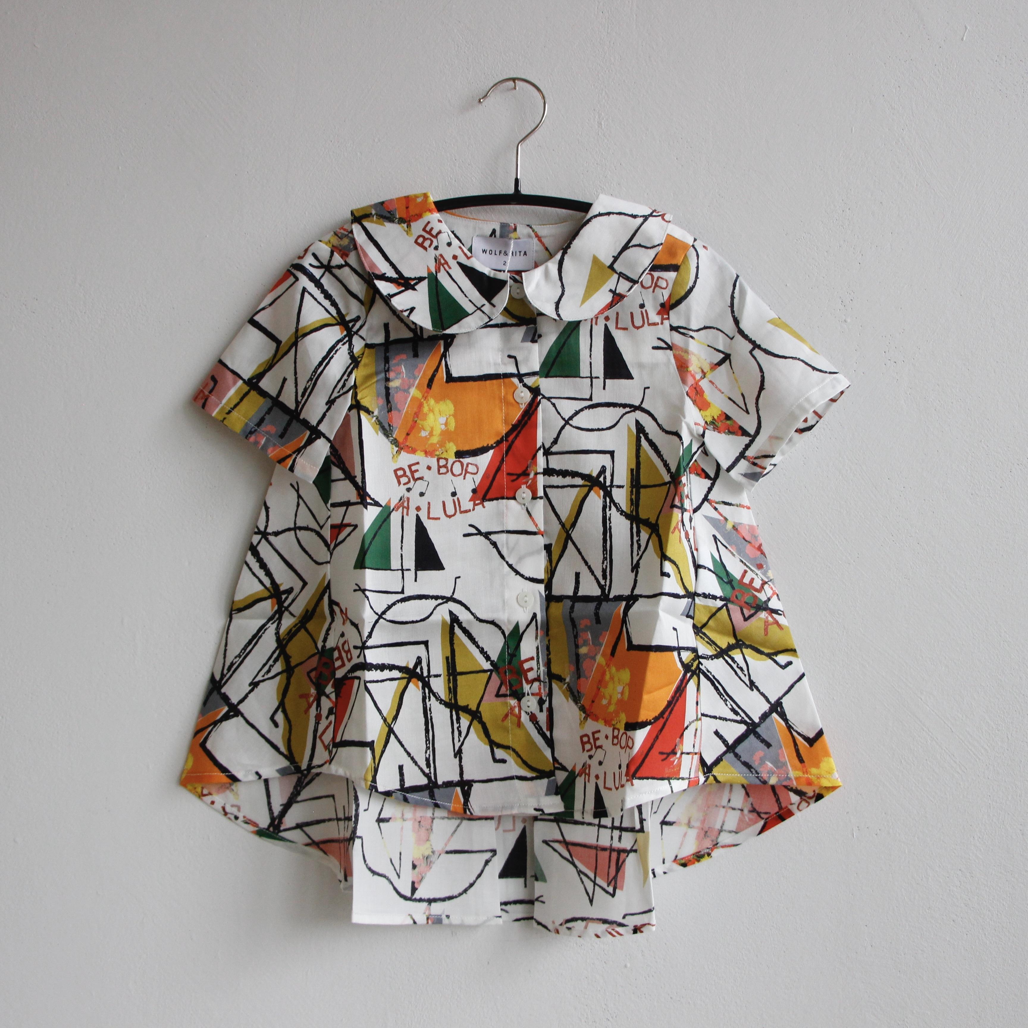 《WOLF & RITA 2021SS》DIANA blouse / BE BOP