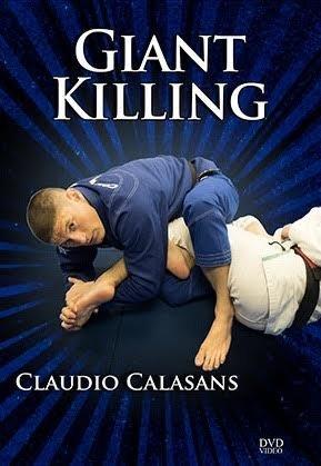ジャイアント・キリング クラウジオ・カラザンス 4枚組DVD ブラジリアン柔術テクニックDVD
