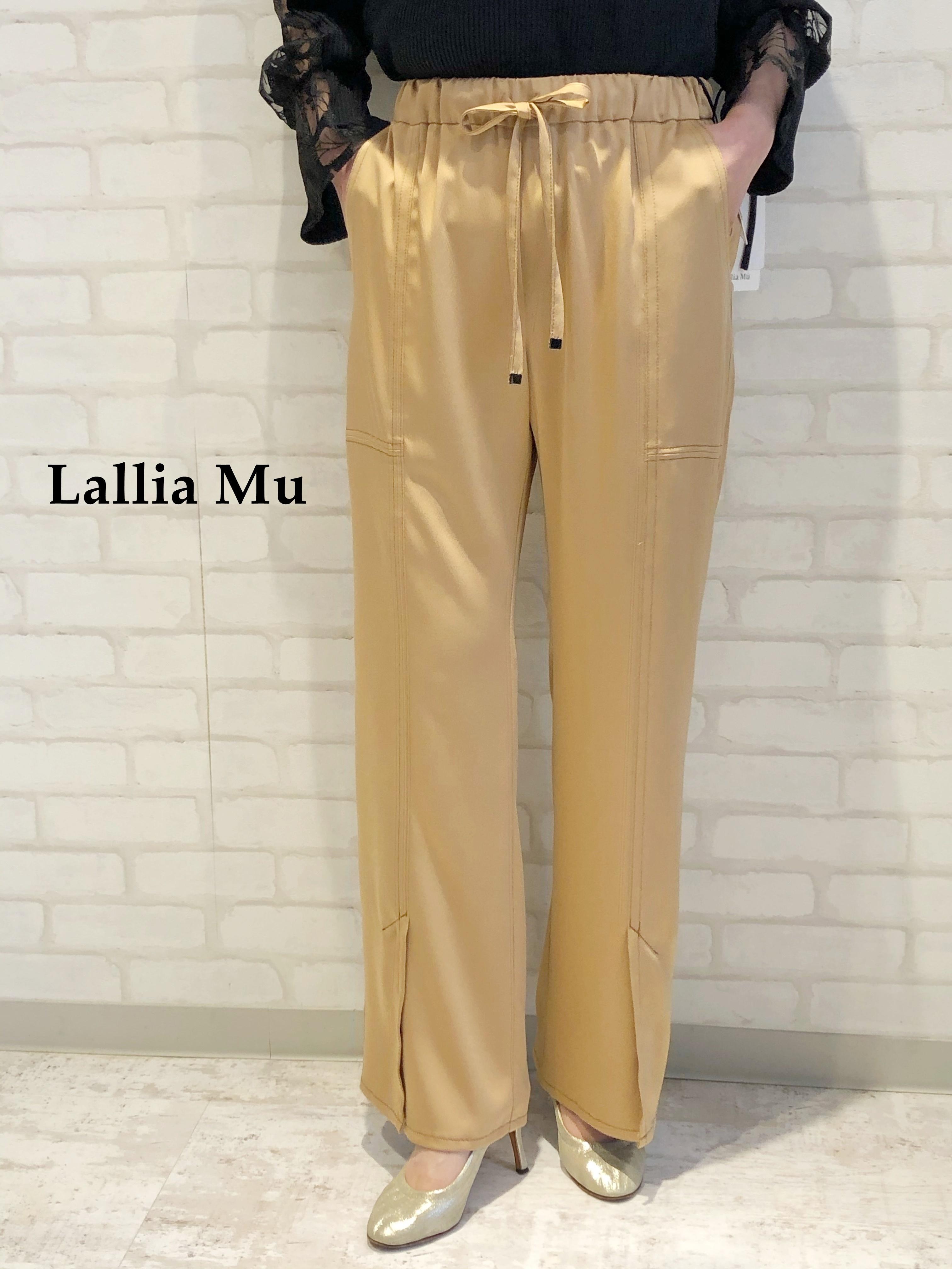 Lallia Mu/イージーパンツ/2111632