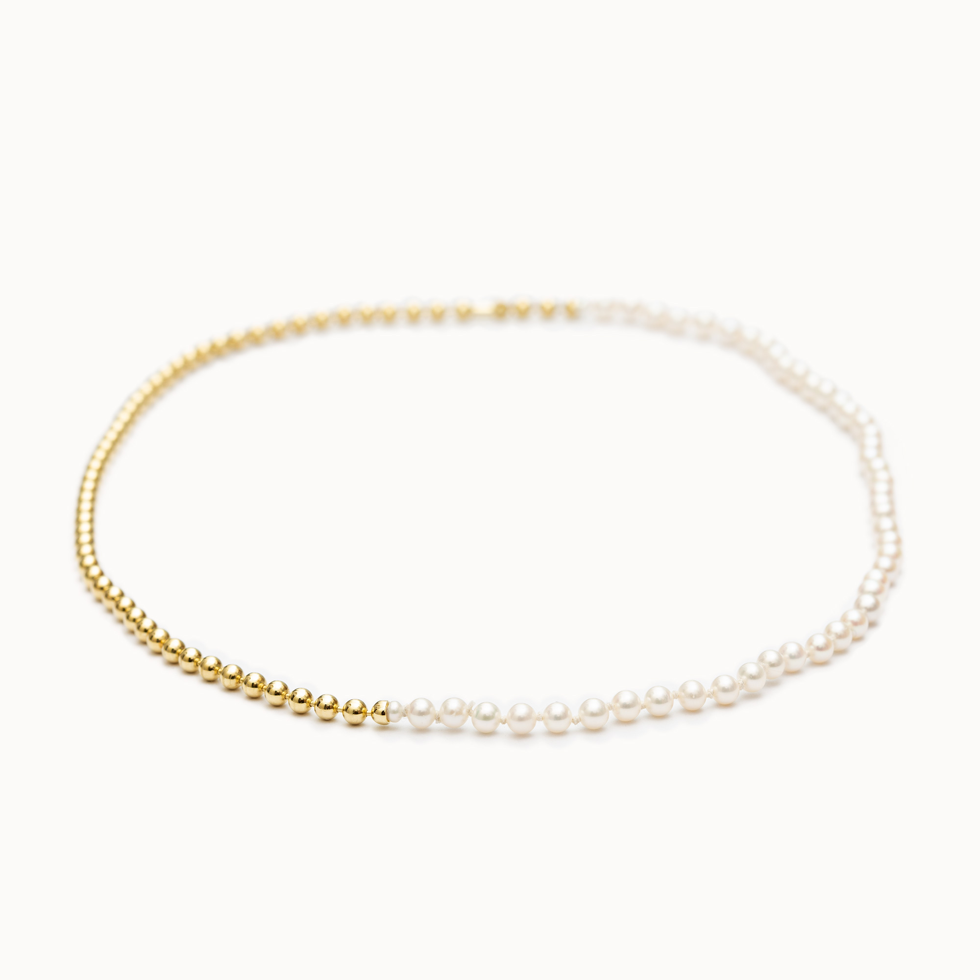 Ball Chain / Pearl Necklace|ネックレス - art.1803N151020