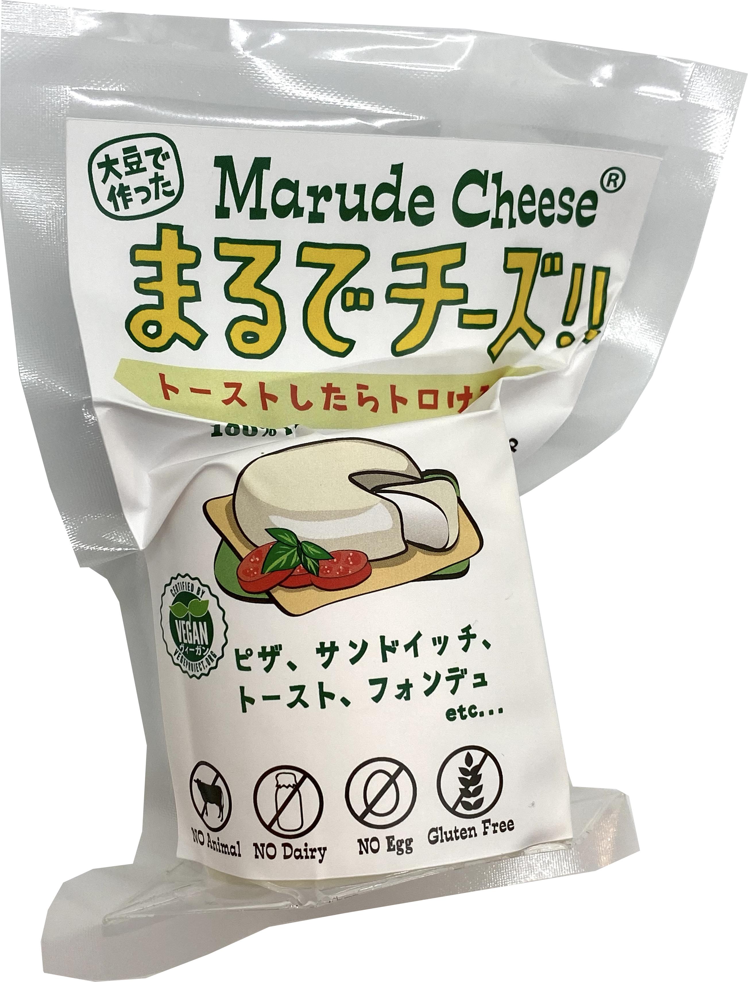 豆乳で作った「まるでチーズ」セミハードタイプ 120g   Marude Cheese (Soy Cheese) / Semi-hard Type 120g