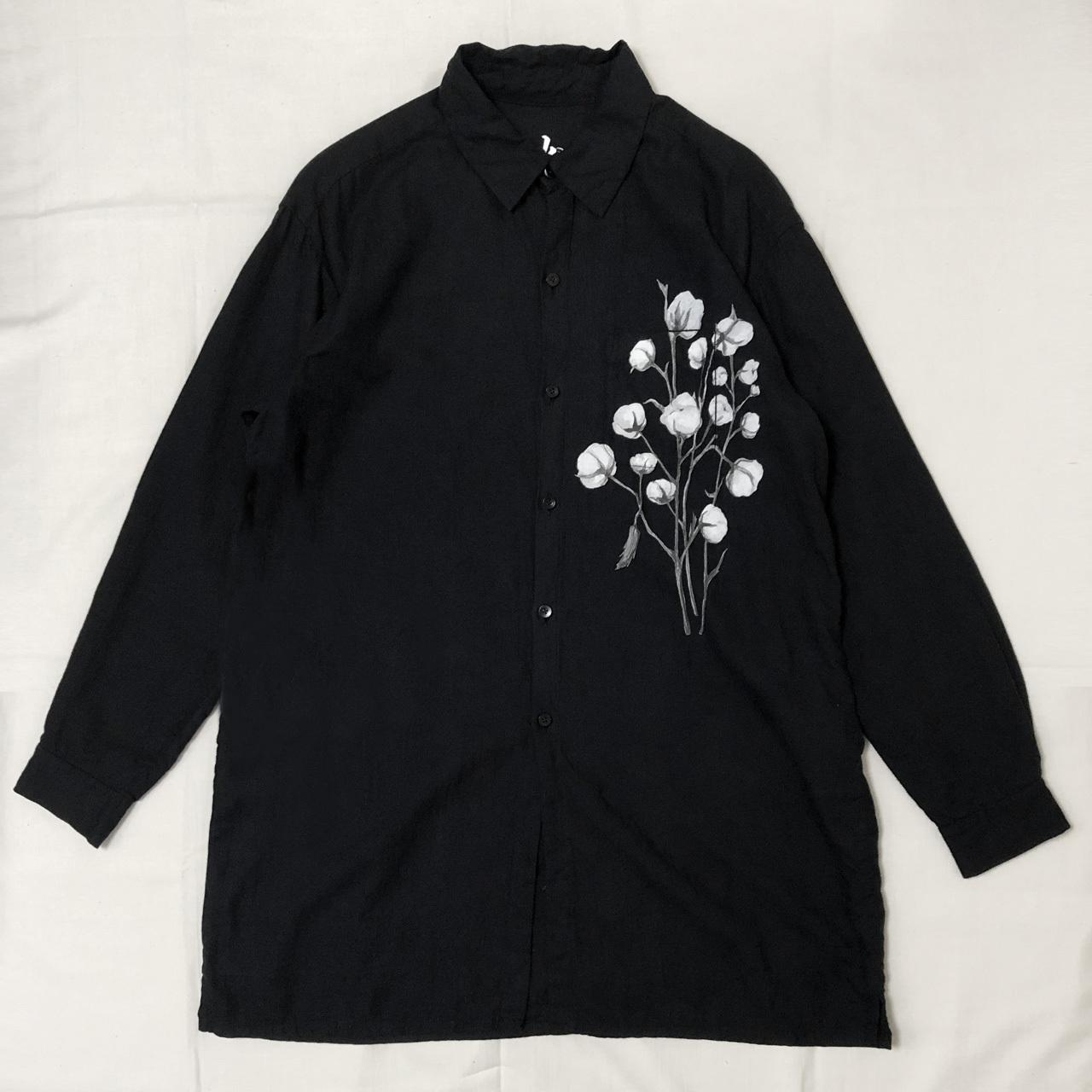ORGANIC COTTON TWILL LONG SHIRT 【受注生産】