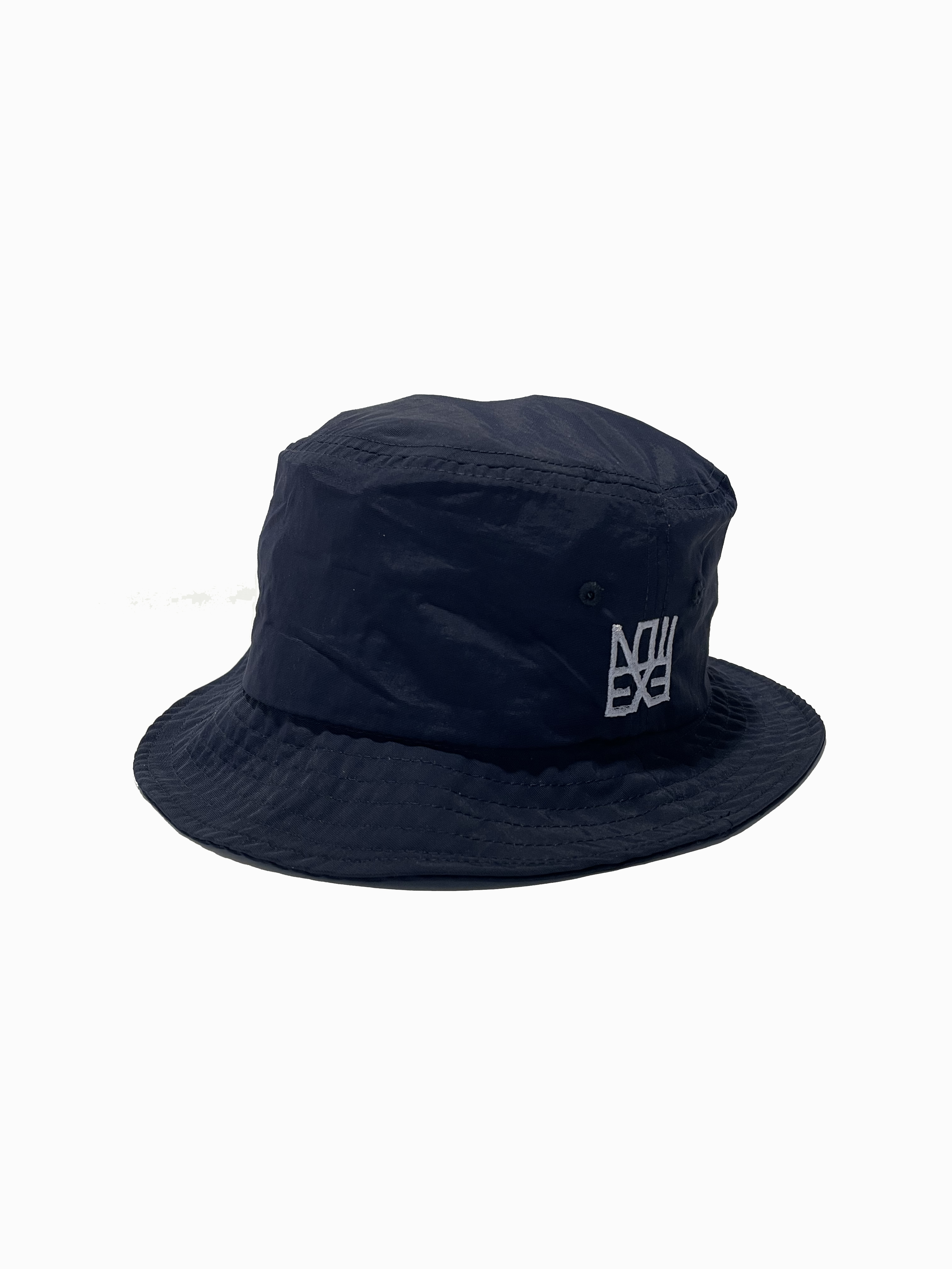 ハット ナイロンバケットハット 【ネイビー】 帽子