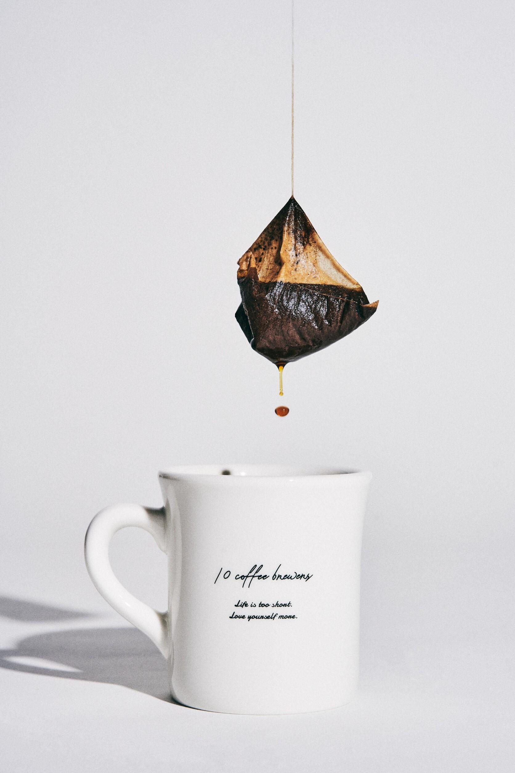 10 COFFEE BREWERS COFFEE BAG