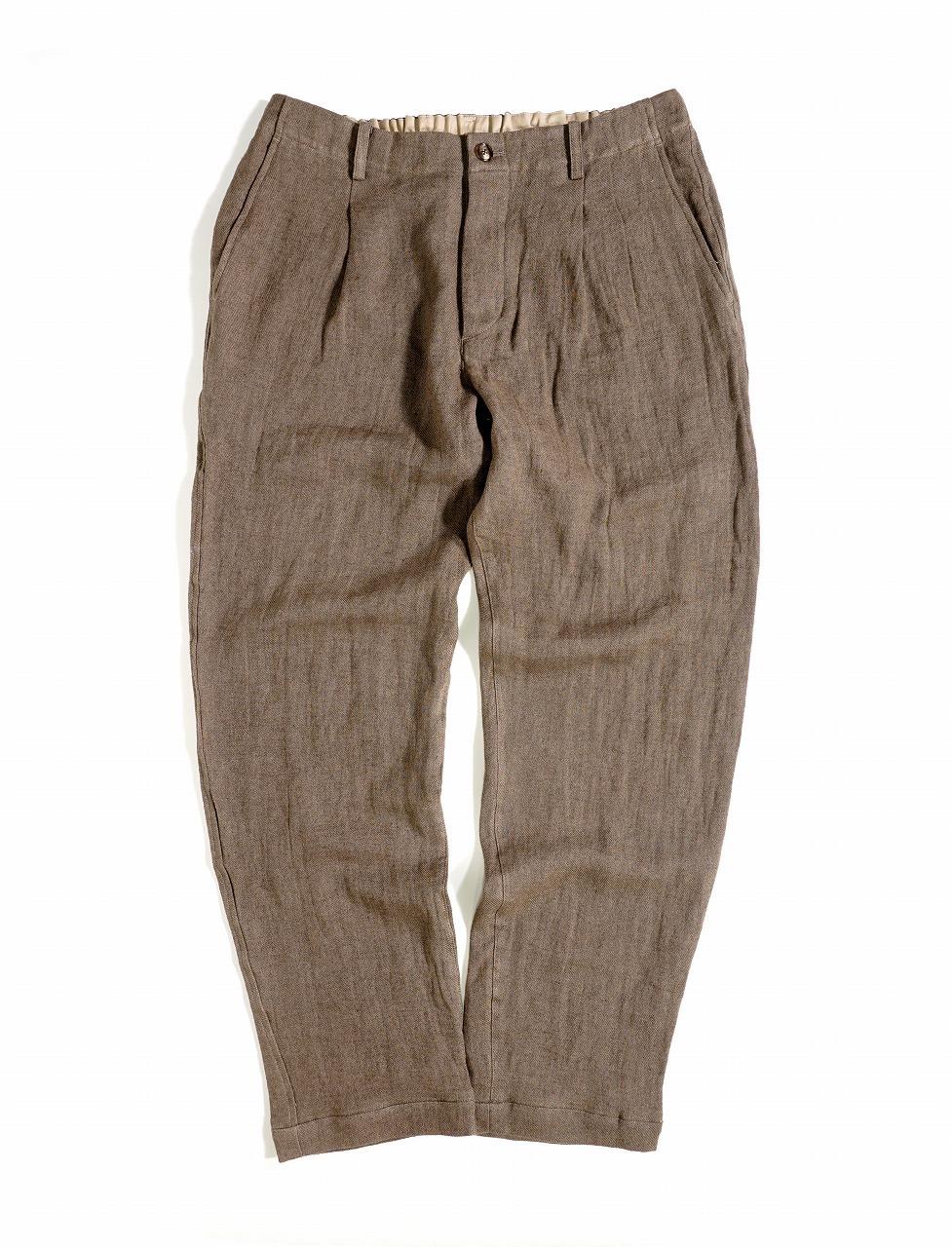 Linen Viyella Trousers