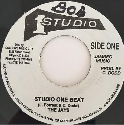 The Jays(ジェイズ) - Studio One Beat【7'】