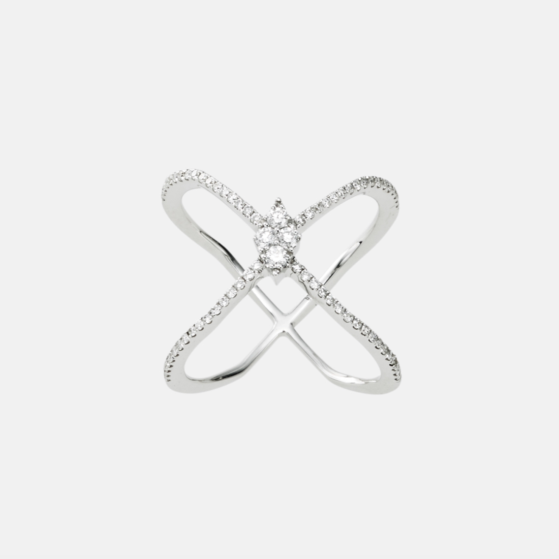 jg <blink> リング K18/ダイヤモンド