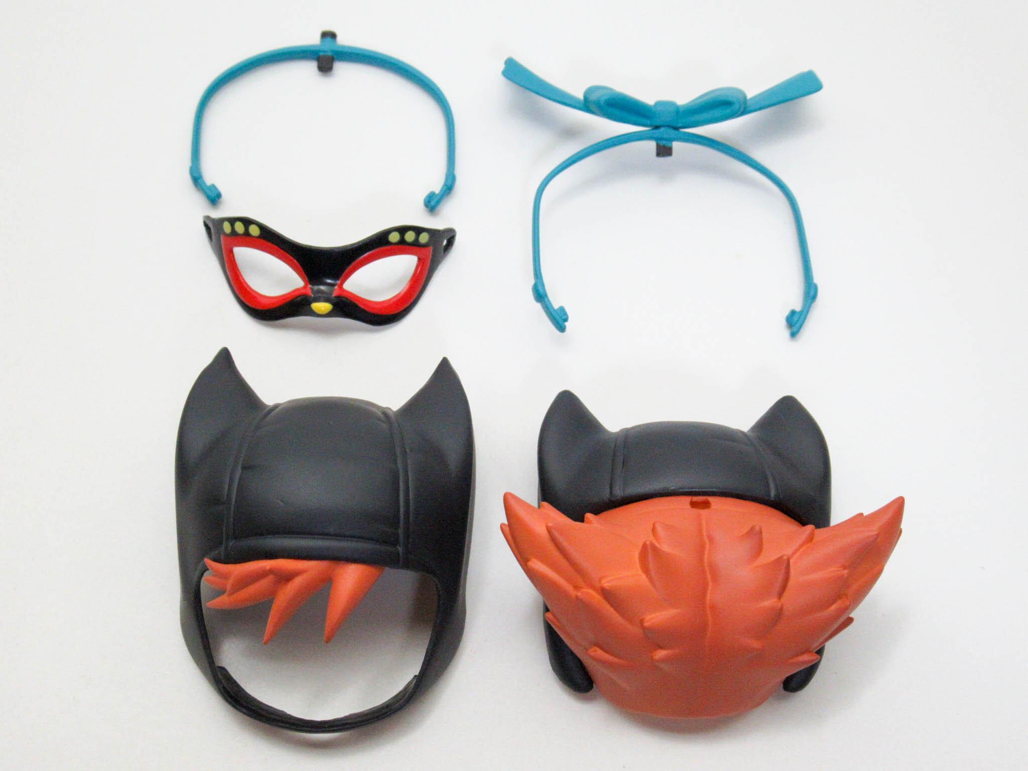 【962】 キャットウーマン 髪パーツ マスク付きショート ねんどろいど