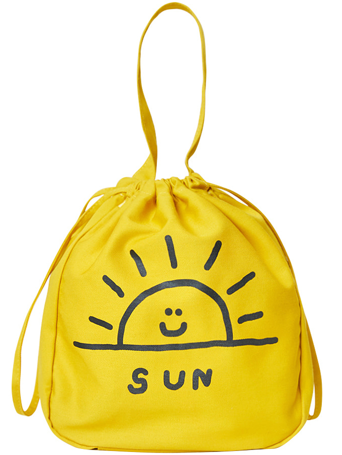 【inapsquare】BUCKET BAG SUN