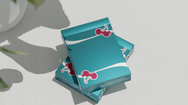 Cherry Casino (Tropicana Teal) by Pure Imagination Projects